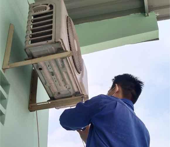 sửa máy lạnh tại Thuận An