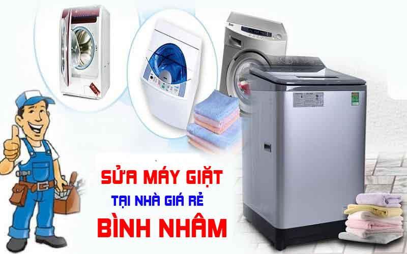 Dịch vụ sửa máy giặt giá rẻ tại nhà ở Bình Nhâm