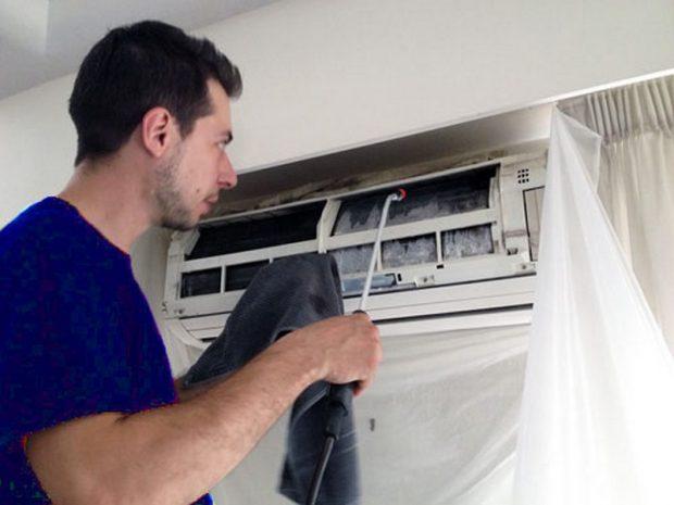 Dịch vụ vệ sinh máy lạnh tại Thuận An Bình Dương giá rẻ
